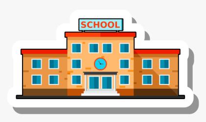 Clip Art Cartoon School Pictures School Building Cartoon Png Transparent Png Transparent Png Image PNGitem