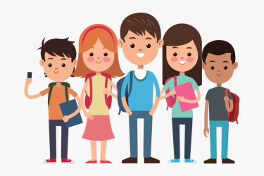Clip Art Student Png For High School Students Cartoon Transparent Png Transparent Png Image PNGitem