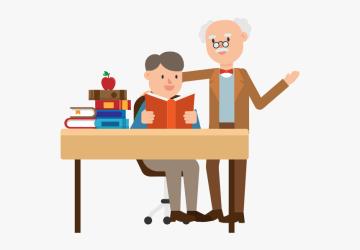 Professor And Student Cartoon Png Download Professor And Student Cartoon Transparent Png Transparent Png Image PNGitem