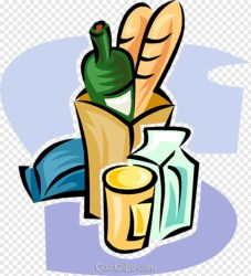 Food Clipart Clipart Grocery Bread Bag Transparent Png 436x480 #4099727 PNG Image PngJoy
