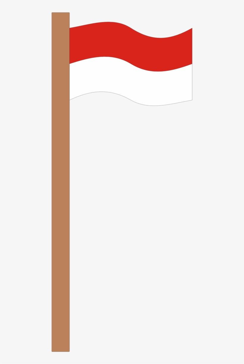 Bendera Indonesia Vector : bendera, indonesia, vector, Indonesia, Tiang, Bendera, Vector, Transparent, Download, PNGkey