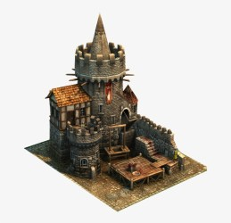 Building Games Building Art Fantasy Castle Fantasy Medieval Tower Isometric Png Free Transparent PNG Download PNGkey