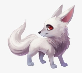 fox kawaii wolf arctic drawing background transparent