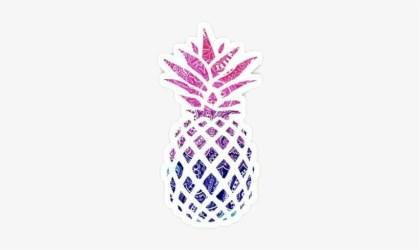 Png Sticker Pegantina Piñas Piña 🍍🍍 Piñas🍍🍍🍍 Black And White Pineapple Outline Free Transparent PNG Download PNGkey