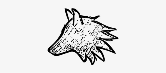 Small Wolf Drawing Of A Wolf Small Free Transparent PNG Download PNGkey