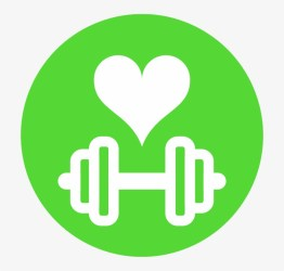 Health Fitness Icon Green Home Icon Png Free Transparent PNG Download PNGkey