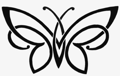 Butterfly Pencil Sketch Drawing Free Png Hq Clipart Simple Butterfly Pencil Drawing Free Transparent PNG Download PNGkey