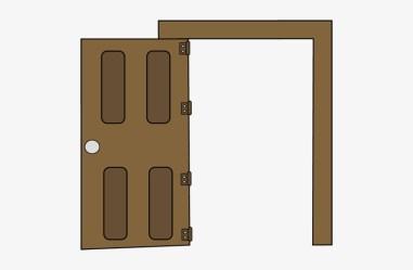 Open Door Clipart Door Open Clip Art Free Transparent PNG Download PNGkey