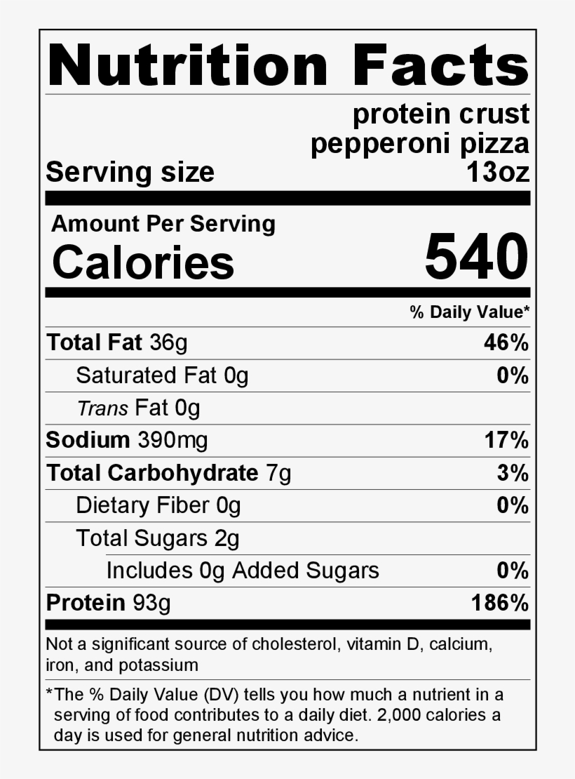 Tombstone Pizza Nutrition : tombstone, pizza, nutrition, Pepperoni, Pizza, Macadamia, Nutrition, Facts, Transparent, Download, PNGkey