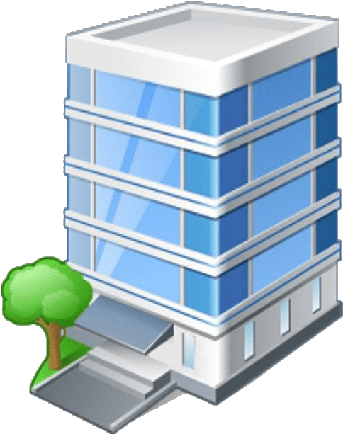 Office Building Icon Png : office, building, Download, Office, Building, Image, Background, PNGkey.com
