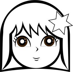 Download Girls Face Coloring Pages Doll Face Clipart Black And White PNG Image with No Background PNGkey com