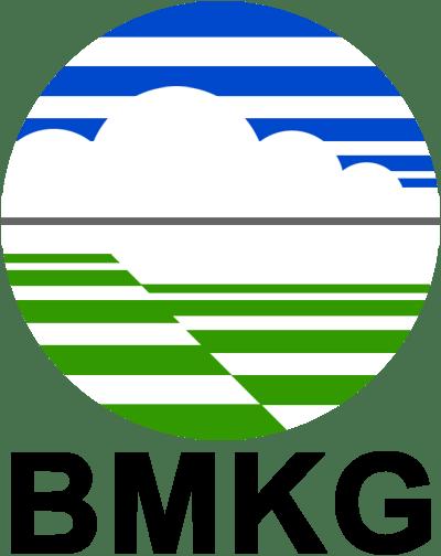 Blue Lightning Bolt Png - Logo Bmkg Png - Free Transparent