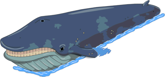 Download Whale Simpsons Blue Whale PNG Image with No Background PNGkey com