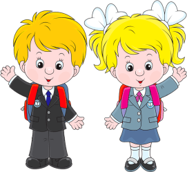 Download Girl Walking To School Clipart Boy And Girl Clip Art PNG Image with No Background PNGkey com