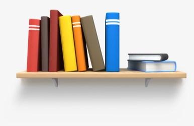 Books Transparent Shelf Png Book On A Bookshelf 1600x1000 PNG Download PNGkit