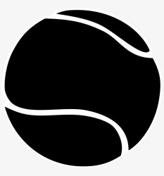 Tennis Ball Clipart Black And White Tennis Ball Black And White 800x799 PNG Download PNGkit