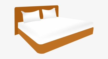 Cartoon Bed Png Graphic Double Bed Clipart 600x370 PNG Download PNGkit