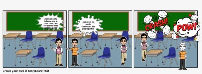 The Empty Classroom Cartoon 1164x385 PNG Download PNGkit