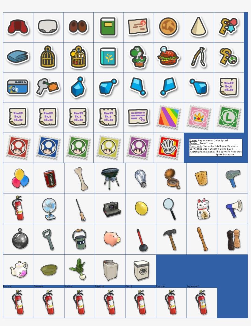 Paper Mario Color Splash Map : paper, mario, color, splash, Click, Sized, Image, Icons, Paper, Mario, Color, Splash, Items, 1049x1312, Download, PNGkit