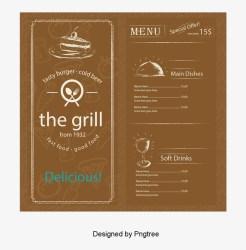 Vintage Menu Design Vector Creative Retro Menu Png Graphic Design 800x800 PNG Download PNGkit