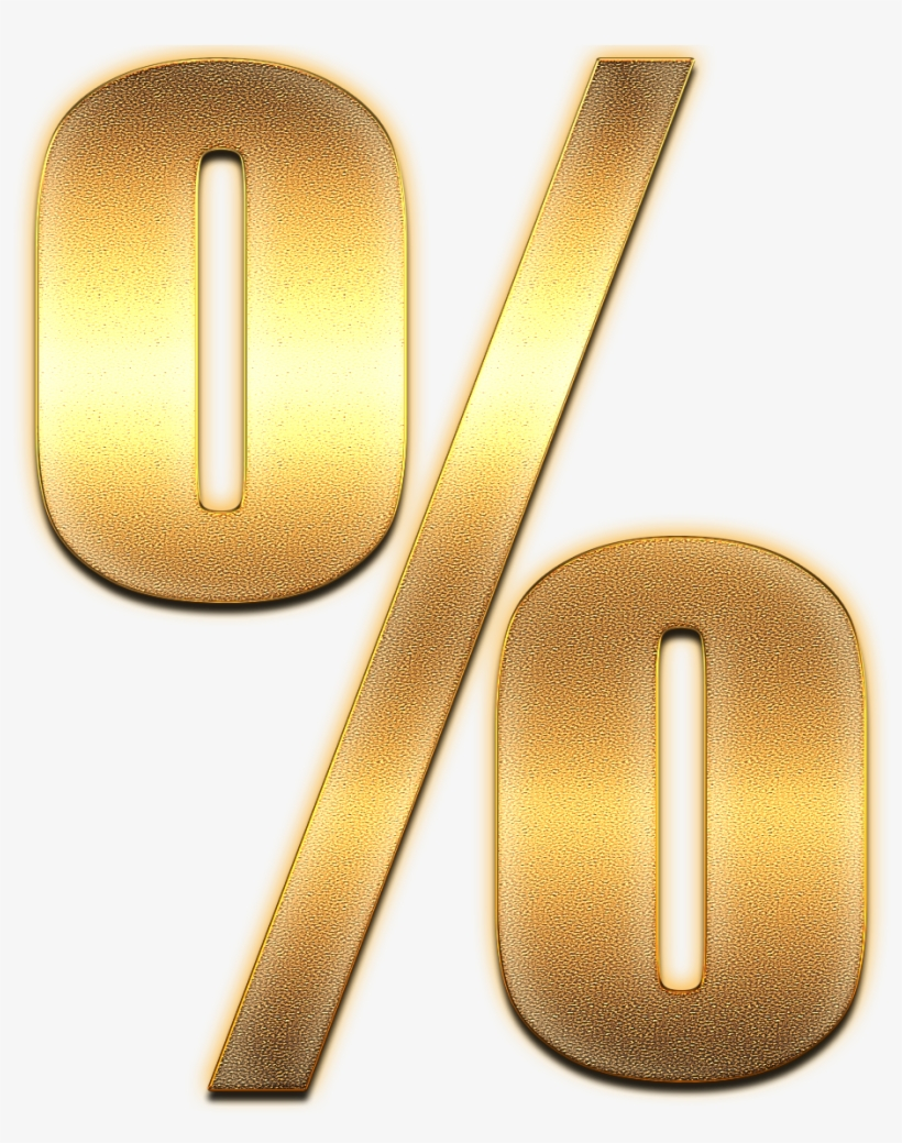 Gold Percentage : percentage, Percent, Download, Percentage, 973x1175, PNGkit