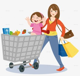 Mom Grocery Shopping Clipart Shopping Grocery Store Shopping Mom Png 900x808 PNG Download PNGkit