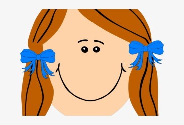 Brown Hair Clipart Pigtails Face Girl Clipart 640x480 PNG Download PNGkit