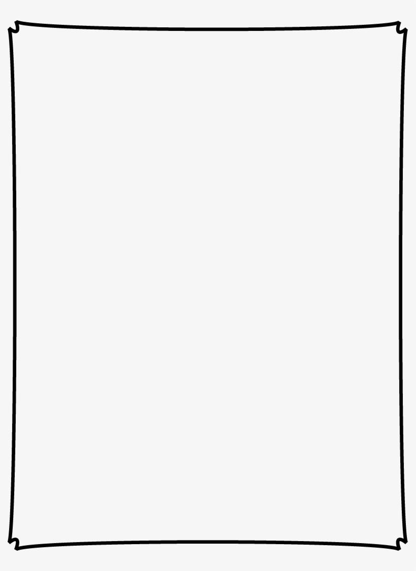 Decorative Text Box Clip Art Transparent : decorative, transparent, Dipped, Corner, Border, Transparent, Background, 789x1047, Download, PNGkit
