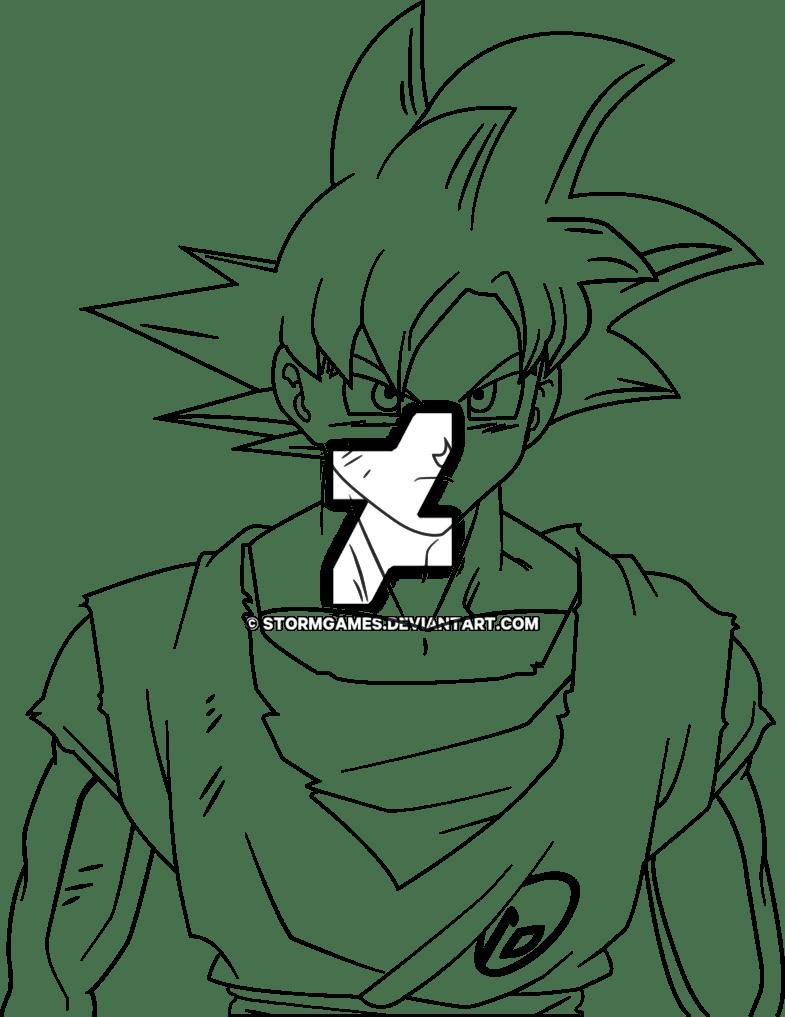 Goku Drawing Super Saiyan God