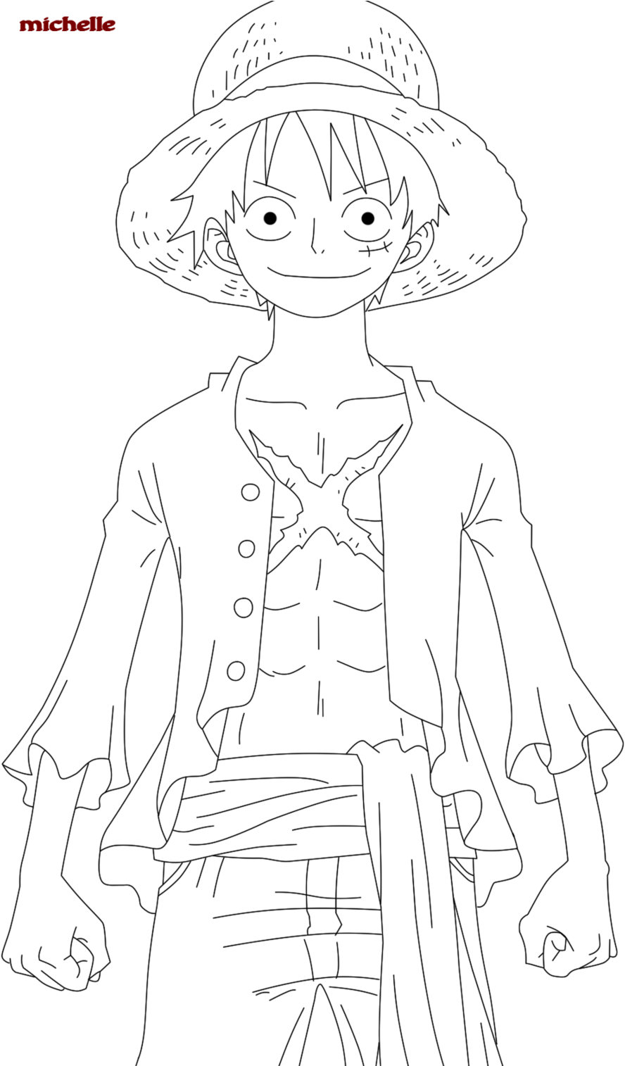 One Piece Coloring Pages : piece, coloring, pages, Download, Modest, Piece, Coloring, Pages, Monkey, Luffy, Pinterest, Image, PNGkit