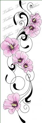 Korean National Flower Tattoo : korean, national, flower, tattoo, Download, Tattoo, Sharon, Maybe, Followed, Poppies, South, Korean, National, Flower, Image, PNGkit