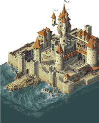 Download Tumblr Fantasy Map Fantasy Castle Fantasy City Fantasy Medieval Banner Pixel Art Full Size PNG Image PNGkit
