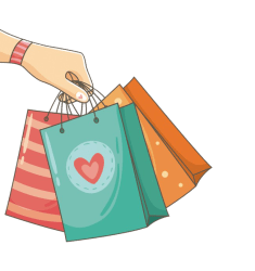 Shopping PNG Background Image PNG Mart