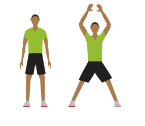 exercise jumping clipart jack transparent workout minute timer physical jacks fitness times sports seven mart background american scientific york pngmart
