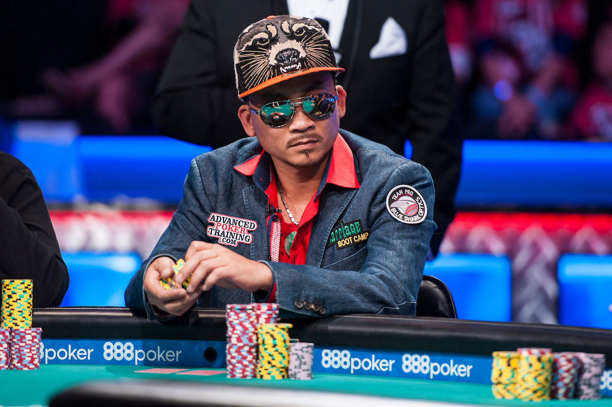 World Series of Poker Main Event Final Table Nguyen Leads