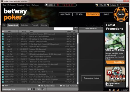 Betway Lobby