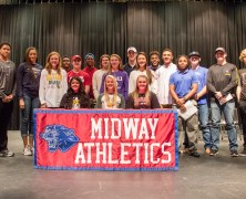 19 Athletes Sign to Play at Collegiate Level
