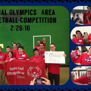 Special Olympians Hoop It Up!