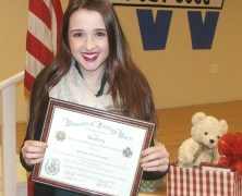Midway Junior Spends Day in Senate