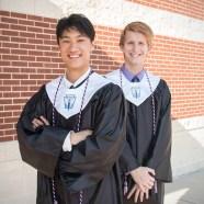 Class of 2017 Valedictorian and Salutatorian