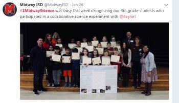 #1MidwayScience Tweets of the Month – January 2018