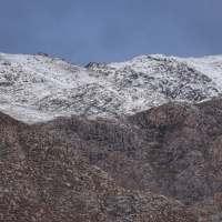 A neve e o frio estão de volta ao Parque Nacional