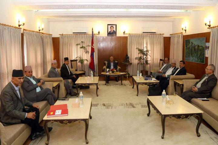 नेकपा सचिवालय बैठक शुरुः आन्तरिक विषयमा छलफल
