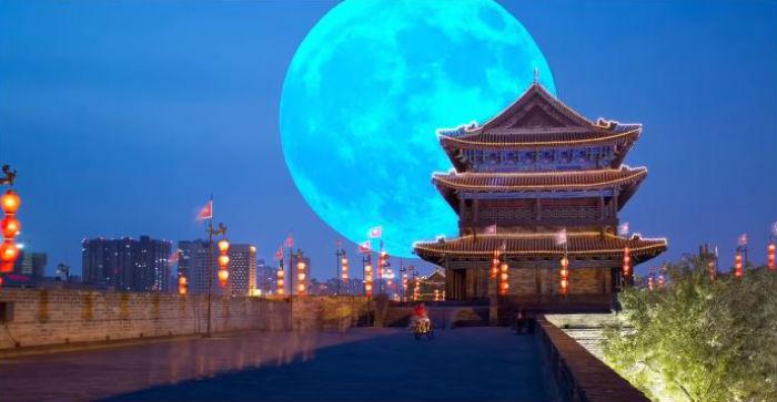 वास्तविक चन्द्रमाको भन्दा आठ गुणा चमकदार चन्द्रमा बनाउने चीनको घोषणा !
