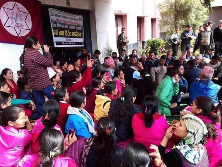 नेपाल शिक्षक महासंघ विरुद्ध कानुनी कारबाहीमा उत्रने पुनरुत्थानवादी शक्ति नेपालको तयारी