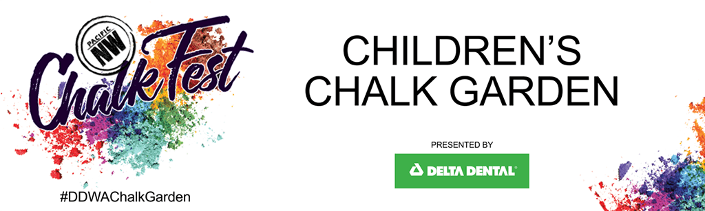 Delta Dental, sponsor of the Children's Chalk Garden