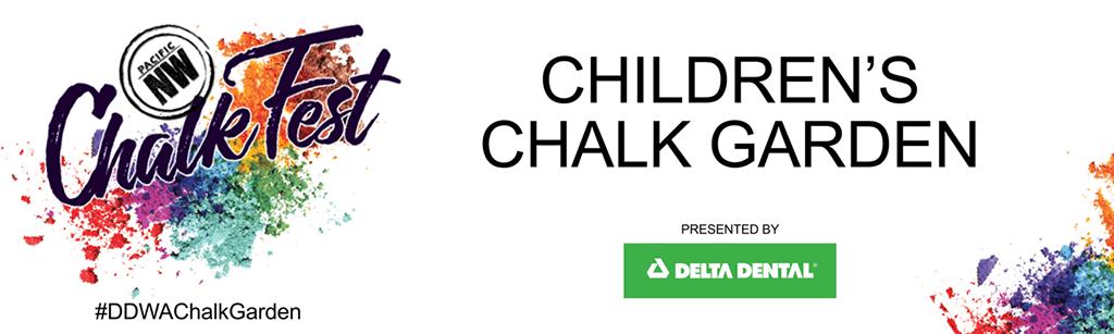 Delta Dental, sponsor of the Children's Chalk Garden