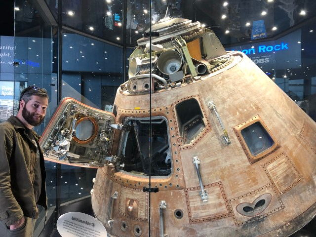 Apollo 16 Command and Services Module U.S. Space and Rocket Center - Huntsville, AL