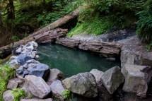 Olympic Hot Springs Washington