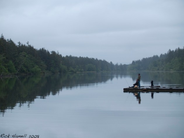 Coffenbury Lake, Fort Stevens, Oregon